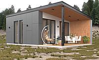 Модульный дом 36 кв.м из двух модулей