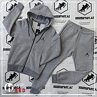 Зимний спортивный костюм Jordan (Gray) в Алматы