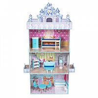Кукольный дом с мебелью Игруша Edufun
