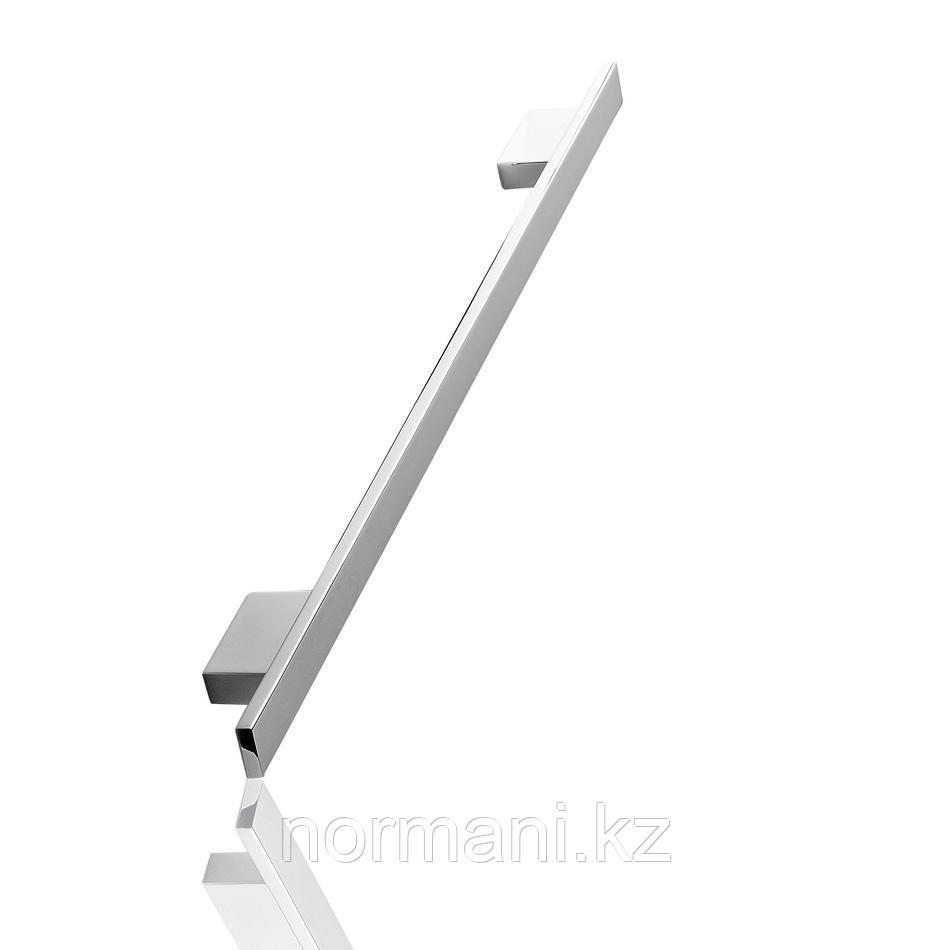 Мебельная ручка скоба, замак, размер посадки 160-192 мм, отделка хром глянец