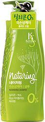 Питательный шампунь для волос с морскими водорослями Naturing Nourishing Shampoo, Kerasys 500 мл Олива