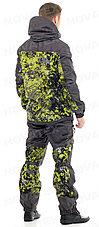 Костюм демисезонный для охоты и рыбалки Novatex Экстрим (алова, серо-салатовый), размер 48-50, фото 2