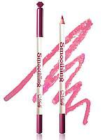 MeNow карандаш для губ Smoothing Liner Pencil тон 060 Цвет: лавандово-розовый