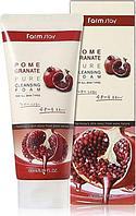 Пенка для умывания FarmStay Pomegranate Pure Cleansing Foam