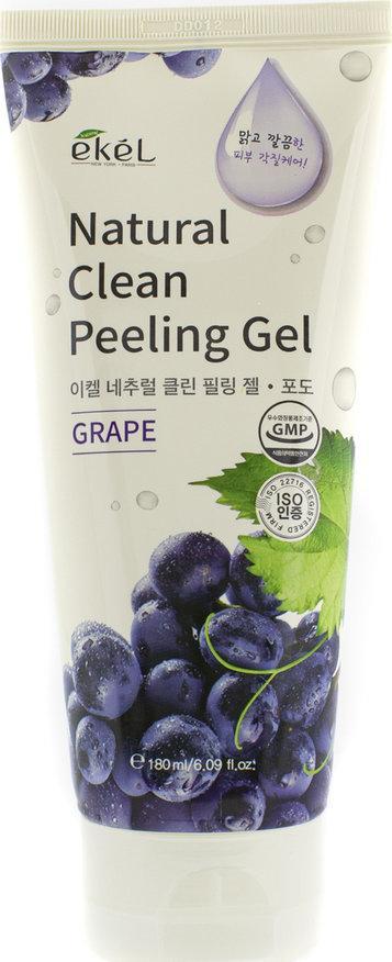 Пилинг-скатка с экстрактом винограда Ekel Grape Natural Clean Peeling Gel