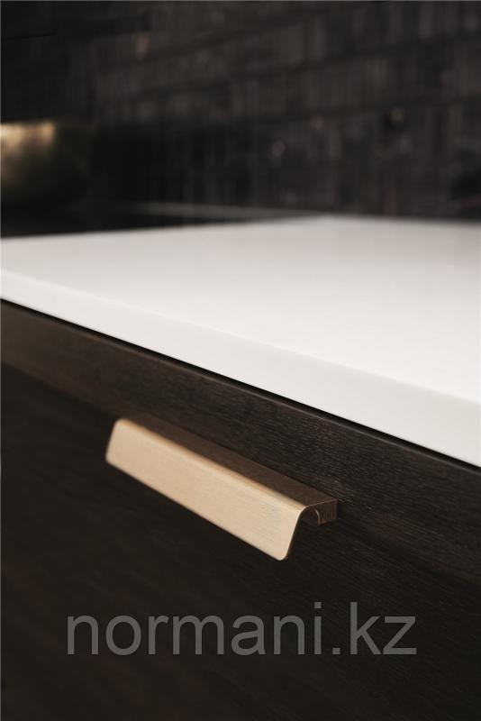 Золото шлифованное, Черная шлифованная, Сталь шлифованная (Ручка 160мм)