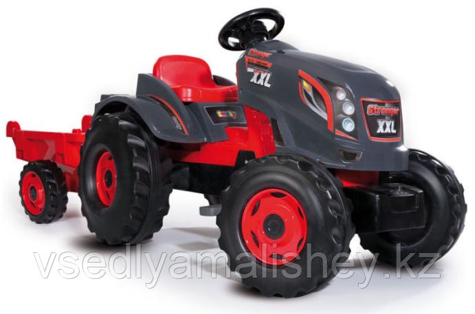 Трактор педальный XXL с прицепом - фото 2