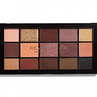 Палетка теней для век Makeup Revolution Re-loaded velvet rose