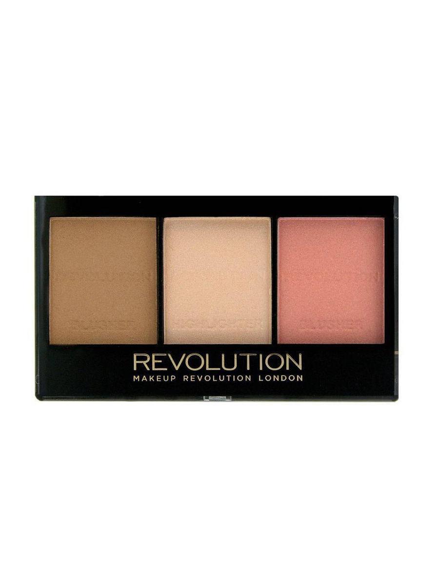 Revolution Makeup / Набор для скульптурирования Ultra sculpt & contour kit, ultra fair C01