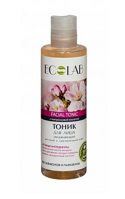Тоник для лица EcoLab Увлажняющий с гиалуроновой кислотой для сухой и чувствительной кожи