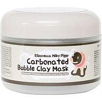 Маска для лица глиняно-пузырьковая Carbonated Bubble Clay Mask от Elizaveca