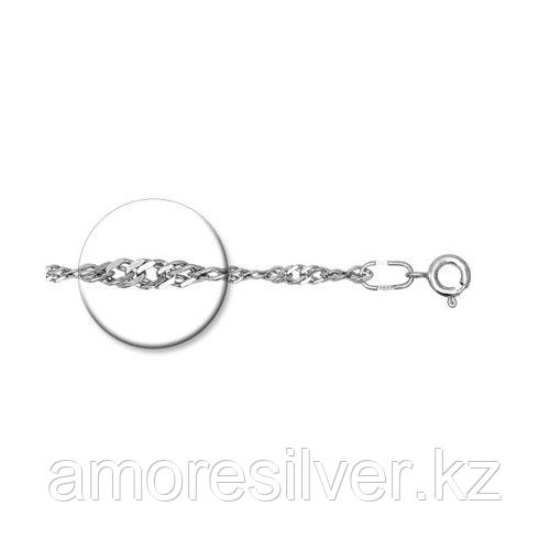 Браслет SOKOLOV серебро с родием, без вставок, сингапур 965090502 размеры - 16 17 18 19 20