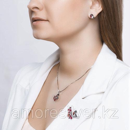 Брошь SOKOLOV серебро с родием, фианит корунд синт., фауна 94040139 - фото 6