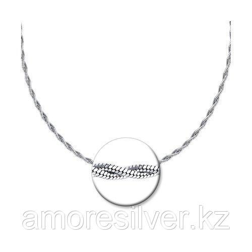 Цепь SOKOLOV из черненного серебра, без вставок 94074530 размеры - 40 55