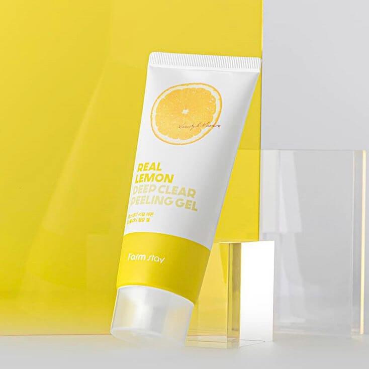 Пиллинг-гель для лица с экстрактом лимона Farm stay