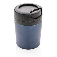 Термокружка Coffee-to-go, синий, синий, , высота 10 см., диаметр 7 см., P432.925
