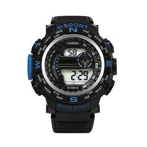 Часы наручные водонепроницаемые и ударостойкие K-SHOCK Lasika Sport (Синий)