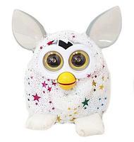 Игрушка интерактивная Фёрби «Пикси со звездами» Gold Edition (Белый)