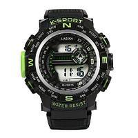 Часы наручные водонепроницаемые и ударостойкие K-SHOCK Lasika Sport (Салатовый)