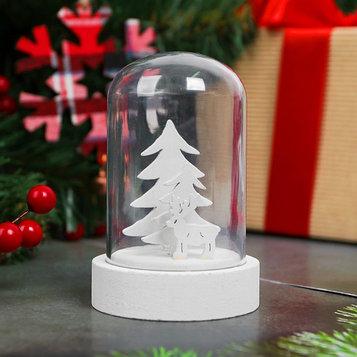 """Новогодний сувенир с подсветкой """"Лесной олень"""""""
