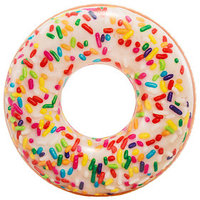Круг для плавания 'Пончик радужный', 99 x 25 см, от 9 лет, 56263NP INTEX