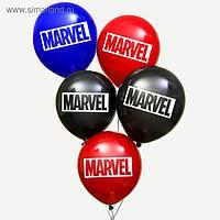 """Воздушные шары """"MARVEL"""", Мстители, (набор 50 шт)"""