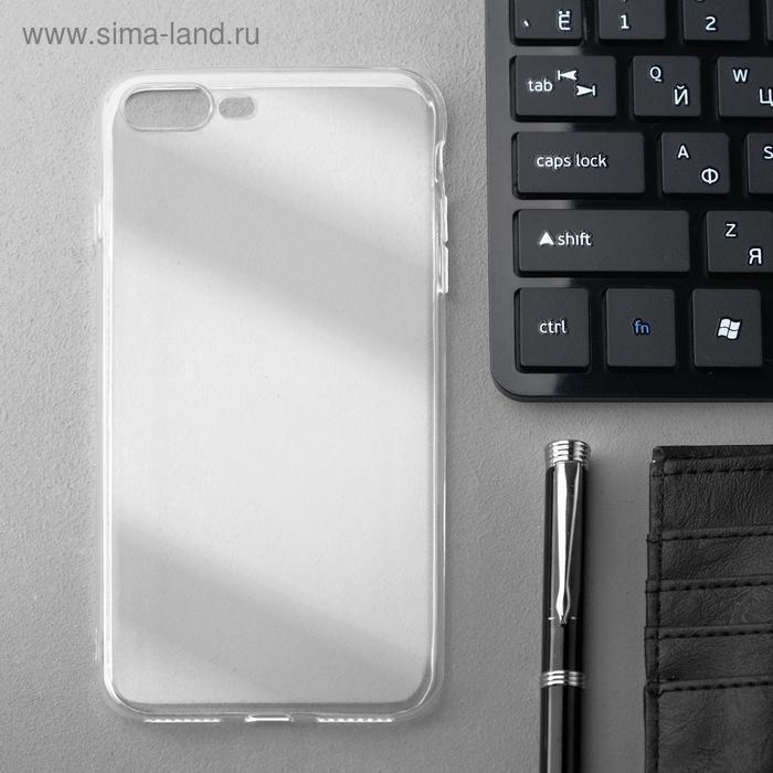 Чехол Innovation, для iPhone 7 Plus/8 Plus, силиконовый, прозрачный - фото 1