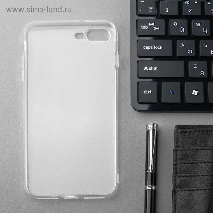 Чехол Innovation, для iPhone 7 Plus/8 Plus, силиконовый, прозрачный - фото 2
