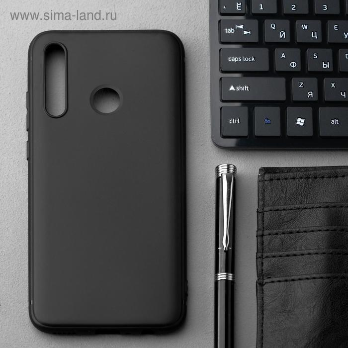 Чехол Innovation, для Huawei Honor 10i/20 Lite, силиконовый, матовый, черный - фото 1