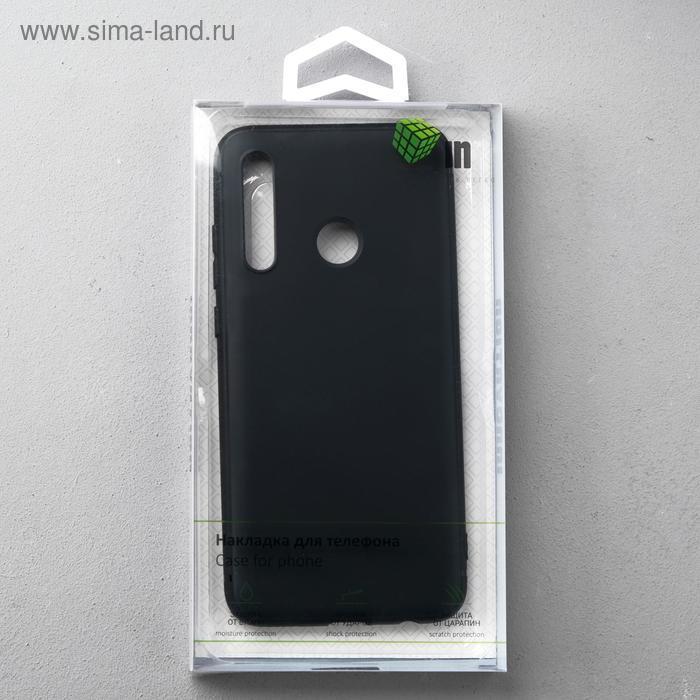 Чехол Innovation, для Huawei Honor 10i/20 Lite, силиконовый, матовый, черный - фото 4