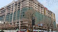 55гр/м2 3м/50м Фасадная сетка для укрытия строительных лесов. Универсальная Пылеулавливающая