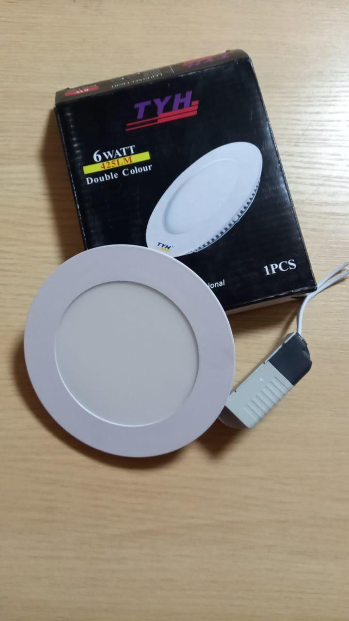 Панель светодиодная внутренняя круглая LED 6 W