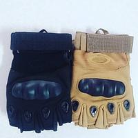 Тактические перчатки с кастетом Oakley койот