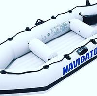 Надувная лодка ПВХ Navigator I 400 4-х местная