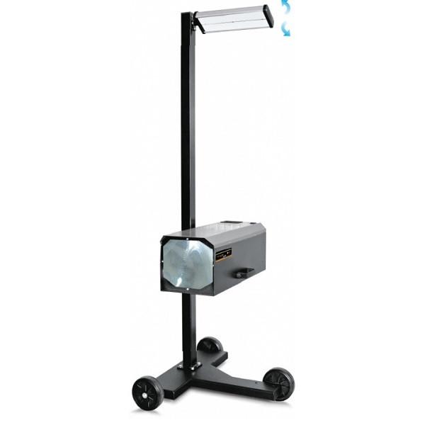 Прибор для проверки и регулировки света фар с цифровым люксметром, цвет RAL9005 (черный)