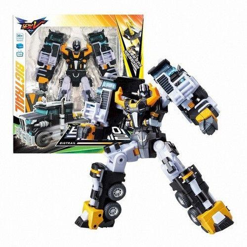 Игрушка трансформер  Детективы Галактики Робот-трансформер Тобот Биг Трейл