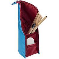 Пенал-подставка Standpoint, голубой с бордовым, фото 1