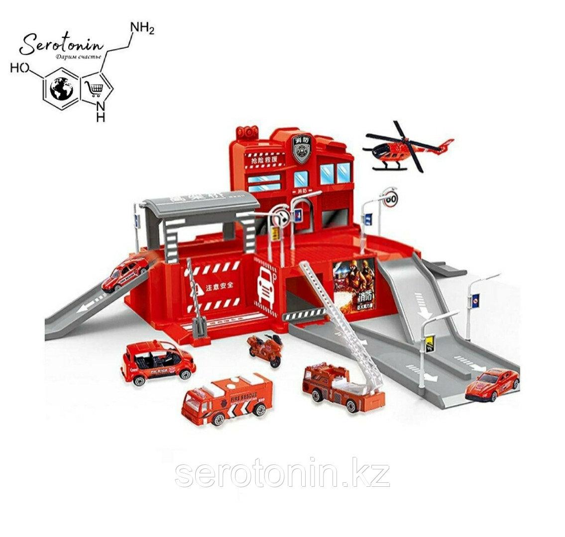 """Парковка """"пожарная станция"""" Intellgence test game fire brigade"""