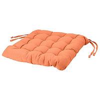 Подушка на стул ВИППЭРТ оранжевый 38x38x6.5 см ИКЕА, IKEA
