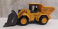 Игрушка Трактор-погрузчик с кузовом инерционный
