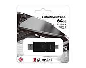 Flash-накопитель Kingston 32Gb USB3.2+Type-C Data Traveler Duo