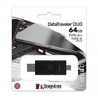 Flash-накопитель Kingston 64Gb USB3.2+Type-C Data Traveler Duo