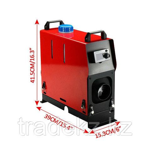 Автономный отопитель,сухой фен, 12В, мощность 5 кВт, дизельное топливо, с пультом ДУ, фото 2