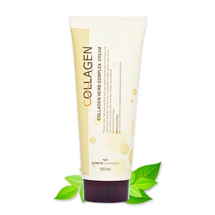 Крем для лица Esthetic House Collagen Herb Complex Cream. С коллагеном и растительными экстрактами