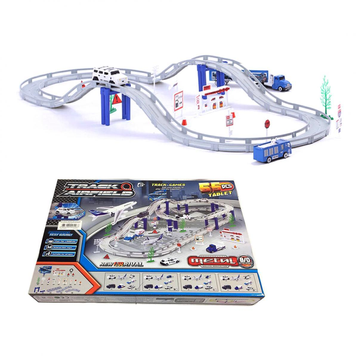 Игровой набор трек Аэропорт, Shantou (CM557-2)