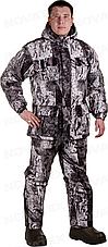 Костюм зимний для охоты и рыбалки Novatex Снеговик (алова, изморозь), размер 52-54, фото 2