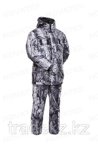 Костюм зимний для охоты и рыбалки Novatex Снеговик (алова, изморозь), размер 56-58, фото 2