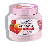 Маска для лица из розового лимона и мандарина 500 ml Cosmo