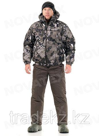 Костюм зимний для охоты и рыбалки Novatex ВЕПРЬ (ткань плащевая, карта), размер 48-50, фото 2