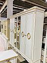 Спальный гарнитур Эмилия, белое/золото, фото 4